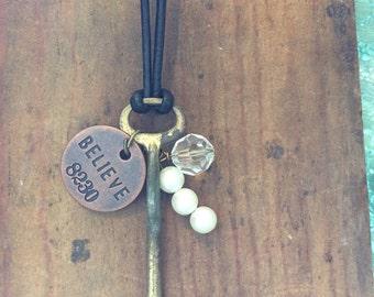 Antique Skeleton Key, Vintage Skeleton Key, Steampunk, Boho Inspired