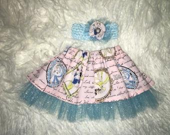 Disney Tutu Skirt and Headband 0-3 months