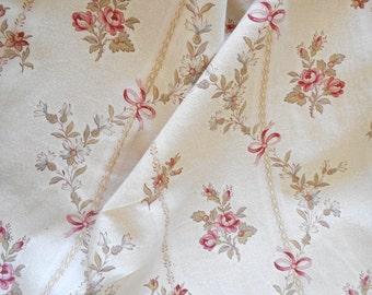 very nice flowery old fabric