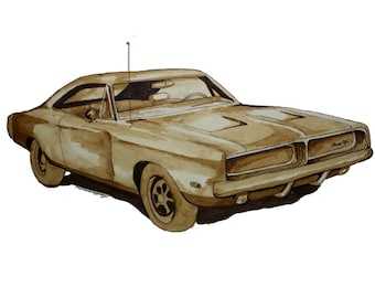 Dodge Charger R/T Print