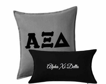 Alpha Xi Delta Pillow