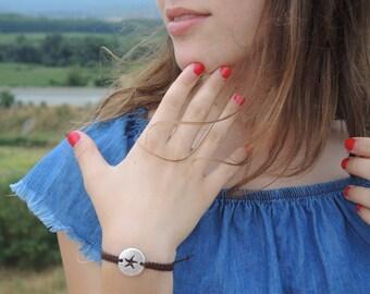 Bracelet handmade - starfish
