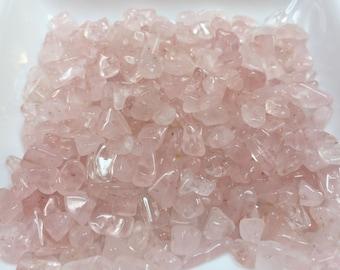 PINK ROSE QUARTZ Bead Chips