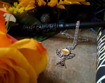 "Harry Potter  inspired ""ALWAYS"" and Deathly Hallows Necklaces"