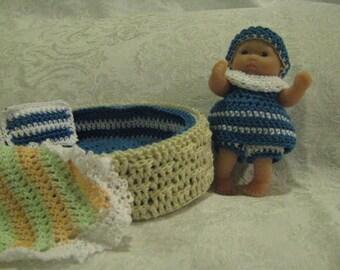 Noah's basket and little girl