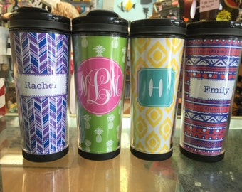 TALL Personalized Travel Mug