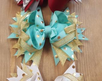 5 in pinwheel bows