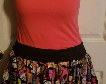 Ethnic Print Skirt