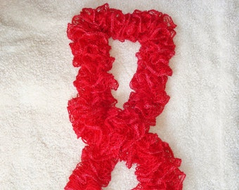 Fashion Scarves Hand Knitted Benefiting Shelter Pets