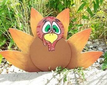 Hand Painted Turkey