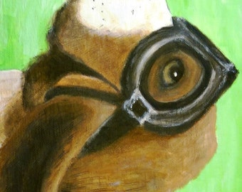 Basset Hound with Goggles Tote Bag