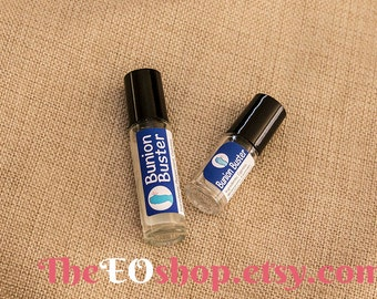 Bunion Buster Roller Blend of Essential Oils for Bunions, Feet, Foot, Pain