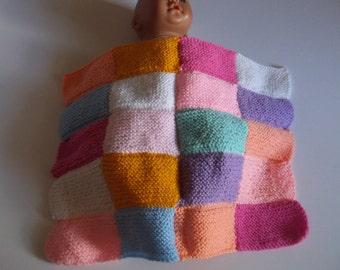 Hand Knitted Woolen Dolls Blanket