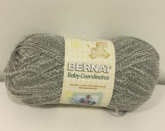 Bernat Baby Coordinates Yarn (soft grey) 5.0 oz./140 g