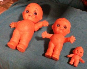 vintage Kewpie dolls