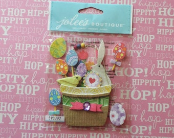 Easter scrapbook stickers by Jolee's Boutique