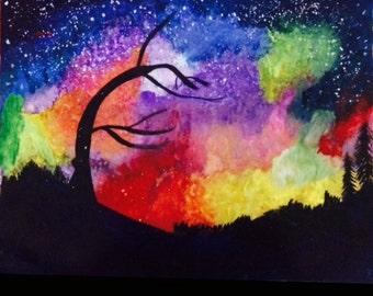 Fireball Sky