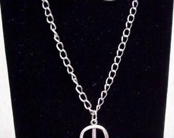 Peace Sign Necklace Set