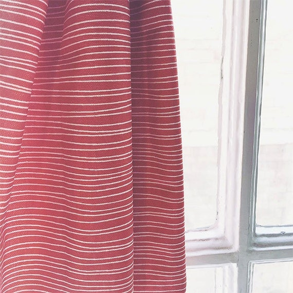 Coral Red Curtains Made to Measure Curtains Scandinavian