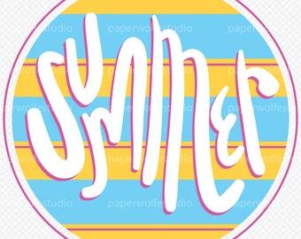 Summer Multi-Use Graphic