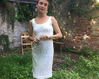 Little White Lacey Dress