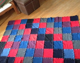 Recycled Cashmere Throw