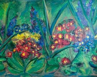 Primary Garden {FINE ART} Kate Wilwert