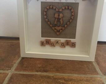 Handmade deep box frames