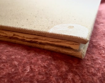 Canvas & Rice Paper Journal
