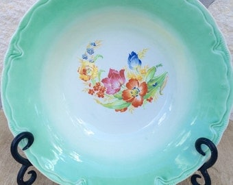 Rare Vintage country/ farmhouse  floral plate