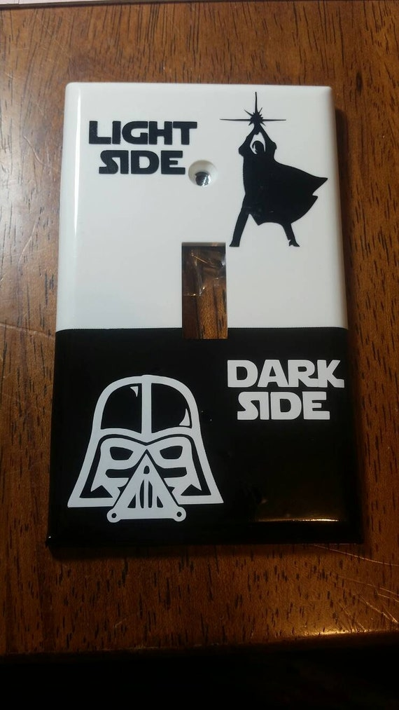 Star Wars Light Switch Cover Single Toggle Switch Plate