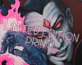 """MR.SINISTER 8"""" x 10"""" Archival Limited Edition Print"""