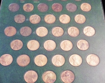 Lincoln Head Cents 1954 - Date