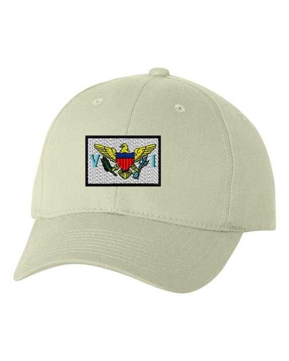 virginia flag embroidery baseball cap hat by