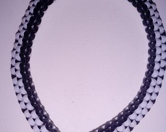 Black and White Checkerboard Bracelet