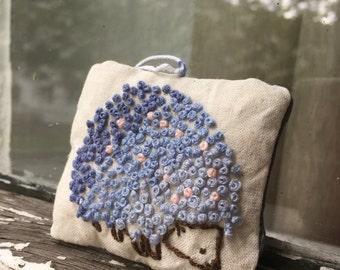 Hedgehog miniature pillow/keychain/gift