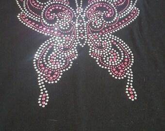 Rhinestone Butterfly