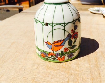 Vintage Japanese pot pourri holder
