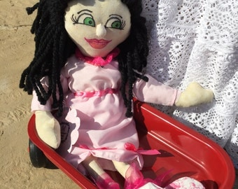 Merlene, Rag Doll, Hand made in the USA