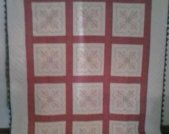 Queen  sized quilt