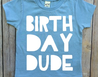 boys birthday shirt, boys shirt, birthday tee, birthday dude, first birthday shirt, toddler birthday, birthday gift for boys, two years old,