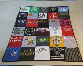 Keepsake T-Shirt Quilt