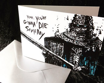 Die Someday Card