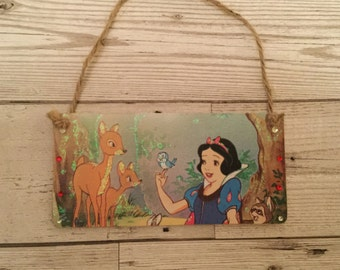 Disney's Snow White Handemade plaque