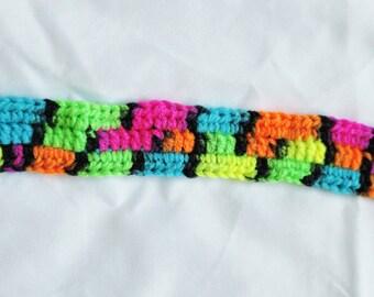 Neon Multi-color Binky Clip