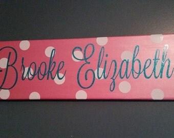 Child's Name Nursery/Bedroom Sign