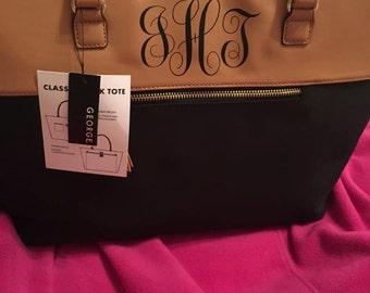 Monogram Leather Bag