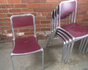 X6 pedrali Italian Dining Chairs