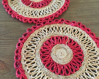 Jute Placemats | Set of Two