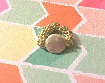 Stone Elastic Ring Sm
